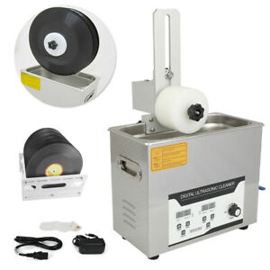 Ultrasonic Record Cleaner 6l With Drying Rack Vinyl Record Cleaning Machine