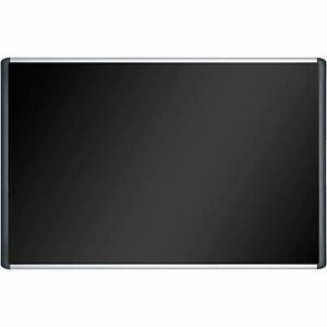 Mastervision Soft touch Corkboard Black Fabric 72 w X 48 h