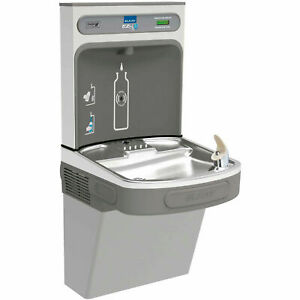 Ezh20 Single Water Bottle Refilling Station Non refrigerated Light Gray