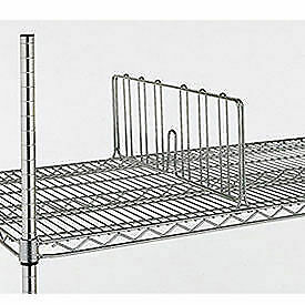 8 h Shelf Dividers For Open wire Shelving 24