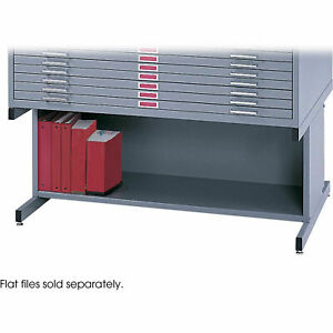 Safco 4975ts Open Base For 5 drawer Steel Flat Files 20h Fits 40 3 8 X 29 3 8