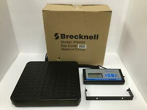 Brecknell Digital Shipping Work Bench Scale 400lb Remote Display Ps 400