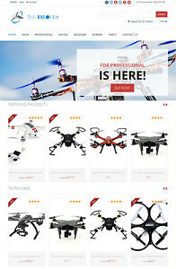 Drones Store The Best Amazon Affiliate Dropshipping Website Free Hosting