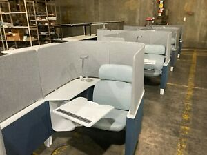 Steelcase Brody Privacy Worklounge Chair With Extension Workstation Cubicle
