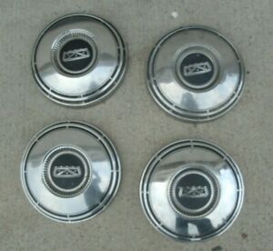 Ford Dog Dish Hubcaps 60s 70s Mustang Cougar Torino Fairlane Galaxie 10 12 Fits Ford