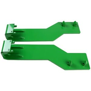 For John Deere Tractor Loader Quick Tach Weld On Mounting Brackets Kuafu