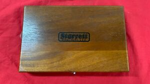 Starrett Wood Case Only For 445cz 3rl Micrometer Depth Gauge Last One This Style