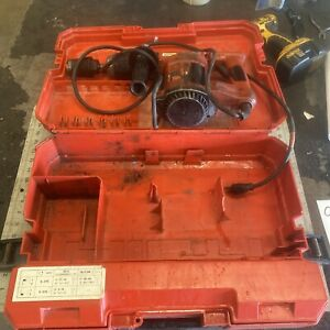 Hilti Te 22 Hammer Drill With Case Tested Good Condition q113