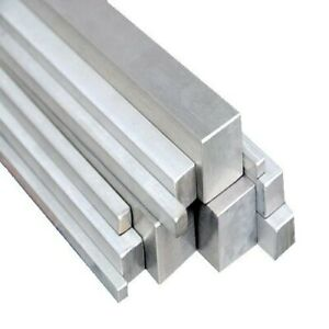 Stainless Steel Square Bar Solid 6mm To 25mm Square 304 All Lengths