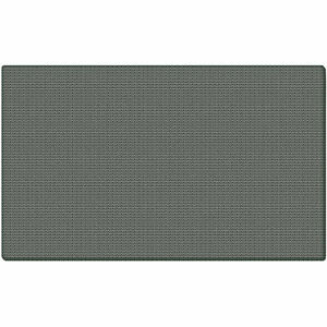 Ghent 174 Fabric Bulletin Board With Wrapped Edge 46 1 2 w X 36 h Gray