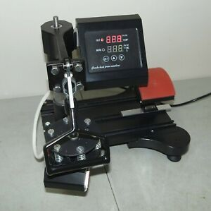 Nice Works Used Multi Function Combo Heat Press Machine curved