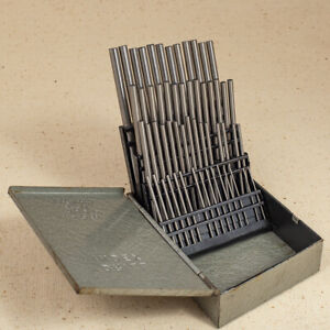 Set Of Number Drill Blanks In Huot Case