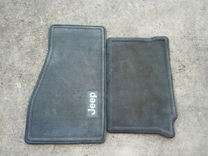 05 06 07 08 09 10 Jeep Grand Cherokee Gray Carpet Floor Mats Rugs Liners Used