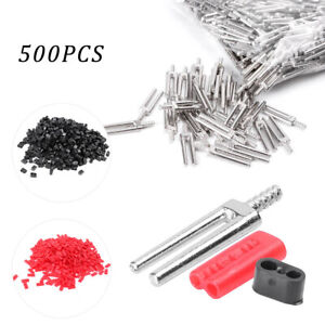 500sets Master Twin Double Ii Pins Plastic Sleeves Dental Lab Supplies