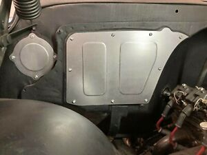 67 72 Chevy Truck A C Delete Panel Plate Blower Cover Bolt In