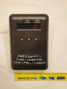 Epa Air Quality Monitor Laser Particle Counter Dylos Dc1100 Pro Emi dc1700