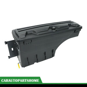 For 2005 2020 Toyota Tacoma Truck Bed Storage Box Toolbox Rear Driver Left Side