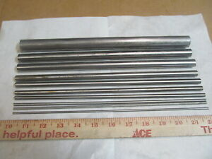 Round Stainless Steel 303 Lathe Bar Stock 12 Long 1 8 To 7 8 10 Sizes