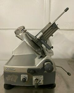 Hobart 2912 Automatic 12 Deli Meat Cheese Slicer W Sharpener Works Great