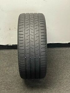 One Used Continental Contipro Contact 255 40 R19 Patched Tire