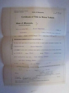 1920 Model T Ford Coupe Barn Find Historical Documents