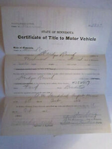 1920 Model T Ford Roadster Barn Find Historical Documents