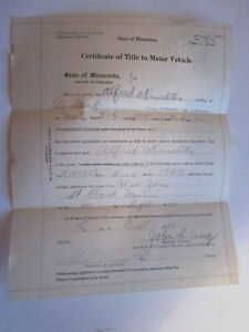 1920 Model T Ford Barn Find Historical Documents