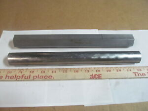 2 Stainless Steel 303 Series 1 1 4 Bars Round Hex 12 Long Lathe Stock