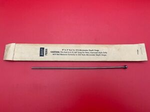 Lufkin 2 3in Rod For 212 Micrometer Depth Gage With Paper Sleeve In Stock