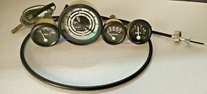 New Ford Tractor 600 700 800 900 Instrument Gauge Kit Tachometer With Cable