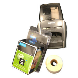 Brother Ql 570 Professional Label Printer Used W Labels No Power Cord