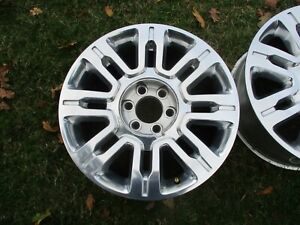 20 Ford F150 Expedition Oem Factory Polished Alloy Wheel Rim 2009 2014 3788 1