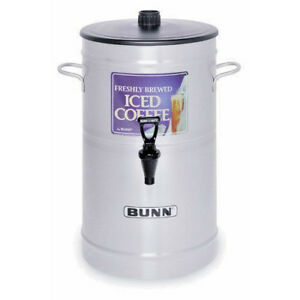 Bunn 3 Gal Iced Coffee Holder Dispenser W Free Cold Brew Coffee