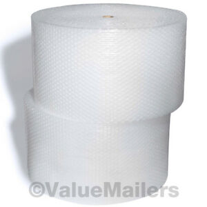 Large Bubble Roll 1 2 X 500 Ft X 24 Inch Cushioning Wrap Bubbles Perforated L