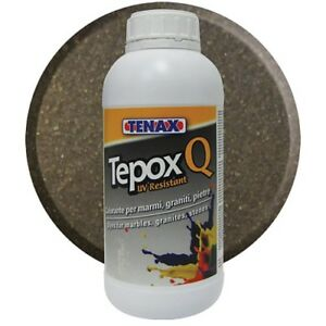 Tepox Q Brown 1 Liter Stain For Stone From Tenax