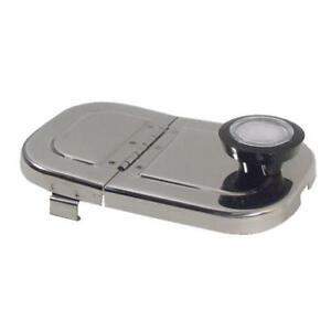 Cover lid For Ice Cream Fountain Well Hinged S s 66221