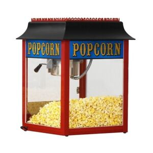New 1911 Red 4 Oz Popcorn Popper Machine By Paragon