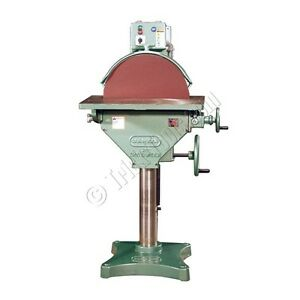 Burr King M20 20 Disc Grinder Single Speed 1725 Rpm 220v 3ph