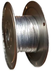 Galvanized Wire Rope 3 32 7x7 Aircraft Cable 500 Ft Tow Axle Shackle Bike