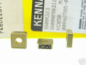 30 New Kennametal Snmm 323 Kc850 Carbide Inserts O310s