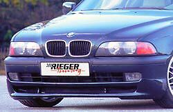 Bmw Rieger Oem E39 1997 2003 5 Series Front Spoiler Abs Plastic Brand New