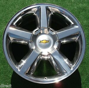 New Chevy Avalanche Tahoe Suburban Polished Ltz 20 Oem Factory Spec Wheel 5308