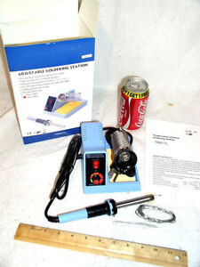 Brand New Soldering Iron Station 50 W 50w 58w 4 Tips free Solder 50 Watts