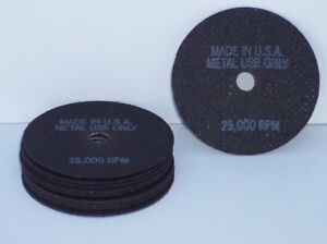 Shark Auto Body Supplies Cut Off Discs 10 Pack Of 3x1 32x3 8 Made In Usa New