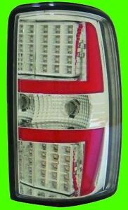 2001 2006 Chevy Suburban Chrome Led Tail Lights Pair