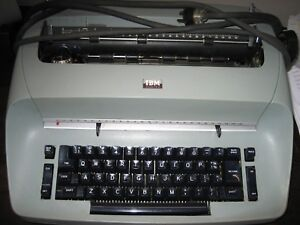 Refurb Ibm Selectric I Typewriter 11 Carriage See Colors Available Below