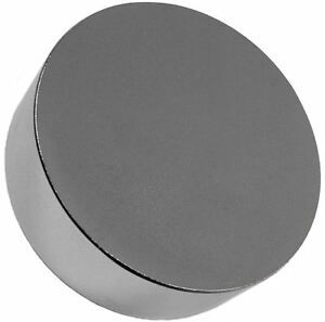 Neodymium Magnet 3 X 1 Inch Disc N48 Big Rare Earth