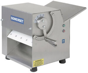 Cdr100 Somerset Ind Dough Sheeter Pizza Dough Roller 10 One Pass New