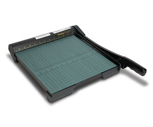 Premier Martin Yale W12 Guillotine 12 Paper Cutter Trimmer Frees h