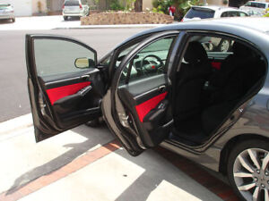 Jersey Red Door Insert For Civic Si Ex Jdm Fa Sedan 2006 2007 2008 2009 2010